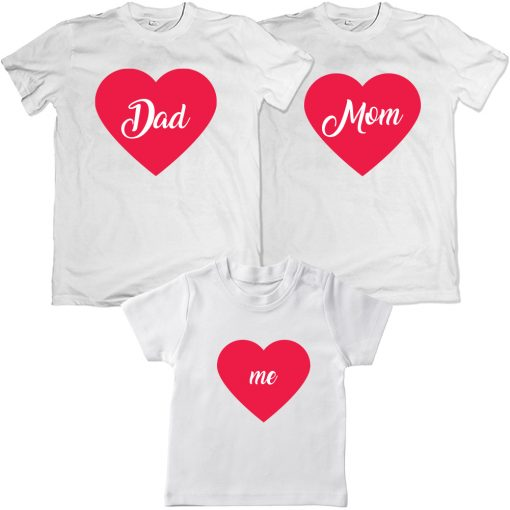 Dad-Mom-Me-Valentine-Family-Combo-T-Shirt-White