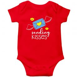 Sending-Kisses-Baby-Romper-Red