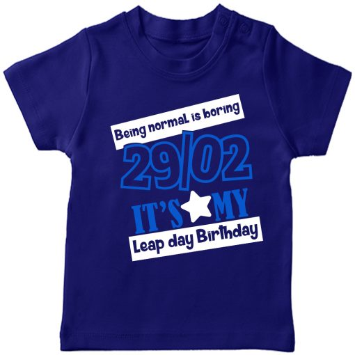 Being-Normal-Is-Boring-Leap-Year-T-Shirt-Blue
