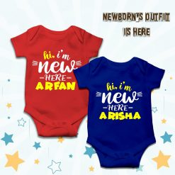 Hi-I'm-New-Here-Customized-Name-Baby-Romper-Content