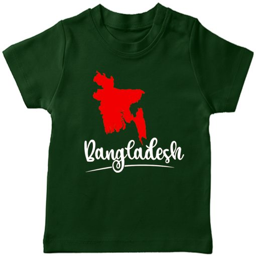 Bangladesh-Independence-Day-Tee-Green