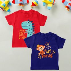 Daily-Wear-Kids-Tee-Combo-Dino-&-Monkey