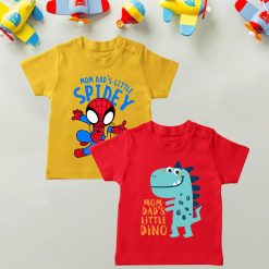 Daily-Wear-Kids-Tee-Combo-Spidey-&-Dino