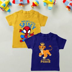 Daily-Wear-Kids-Tee-Combo-Spidey-&-Lion
