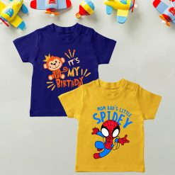 Daily-Wear-Kids-Tee-Combo-Spidey-&-Monkey