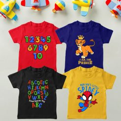 Daily-Wear-Kids-Tee-Four-Set-Combo