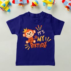 Daily-Wear-Kids-Tee-Monkey-Birthday