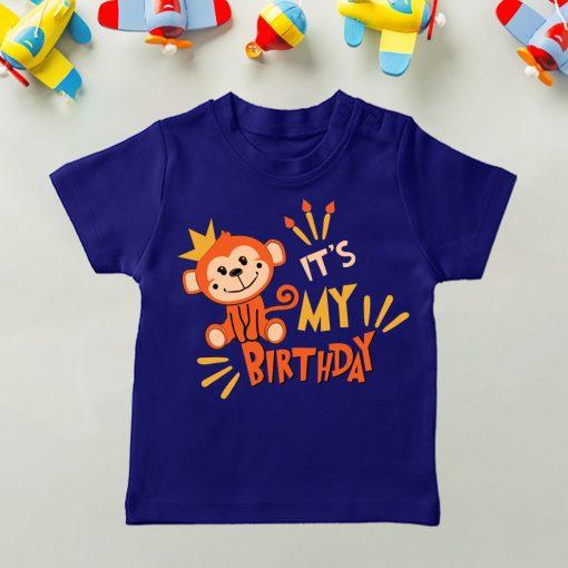 Daily-Wear-Kids-Tee-Monkey-Birthday