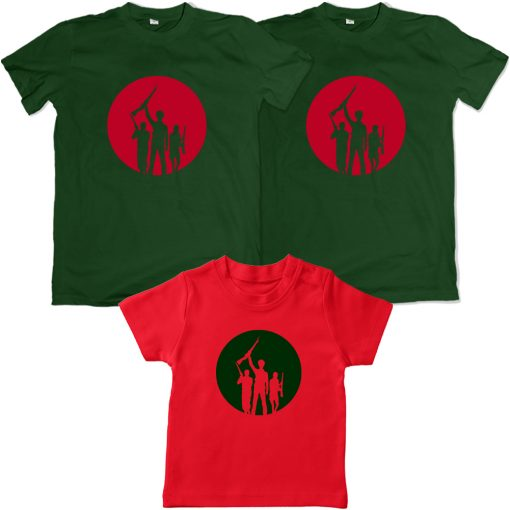 Independence-Day-Freedom-Family-Combo-Tees-Green-&-Red