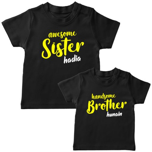 Awesome-&-Handsome-Brither-Sister-Siblings-Combo-T-Shirt-Black