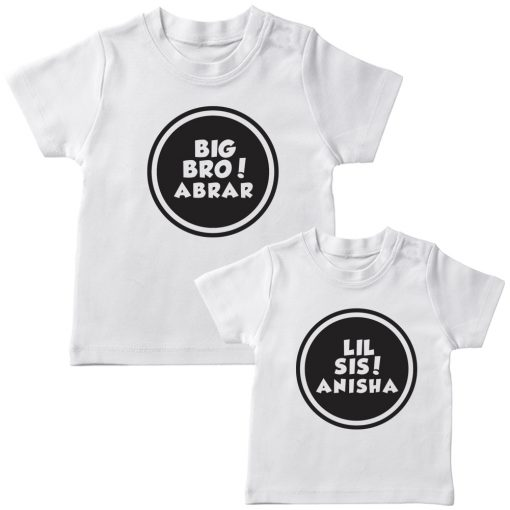 Customized-Name-With-Circle-Siblings-TEES-White