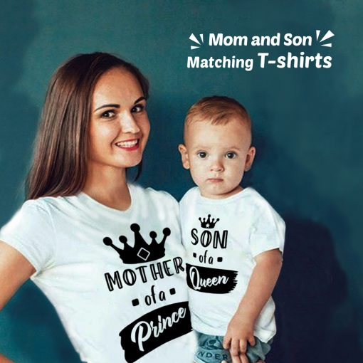 Queen-Mom-&-Prince-Son-Family-Combo-Tees-Content