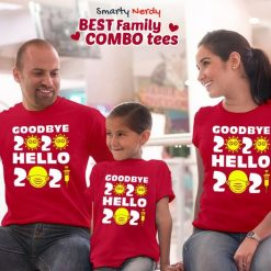 New Year Celebration Family Combo T Shirt