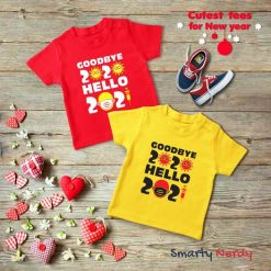 New Year Celebration Kids T Shirt