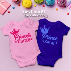 Customized-Name-With-beatiful-Crown-Baby-Romper-Content