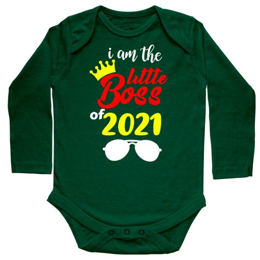 I'm-The-Little-Boss-Baby-Romper-Full-Green