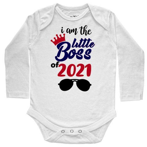 I'm-The-Little-Boss-Baby-Romper-Full-white