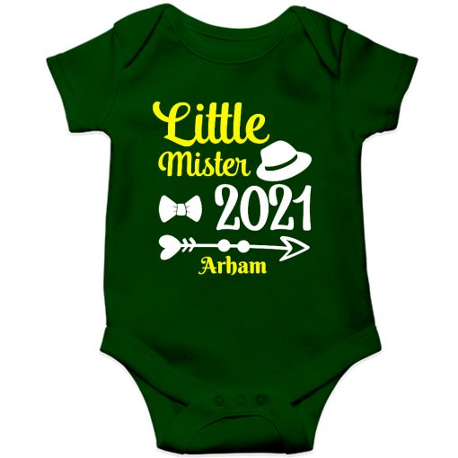 Little-Mister-Baby-Romper-Green