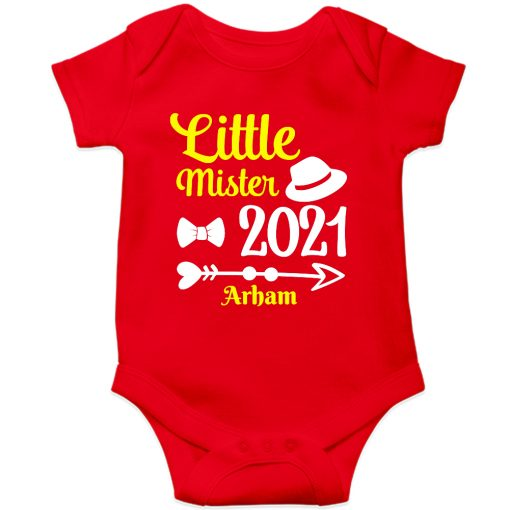 Little-Mister-Baby-Romper-Red
