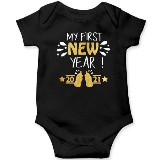 My-First-New-Year-2020-Baby-Romper-Black-Half