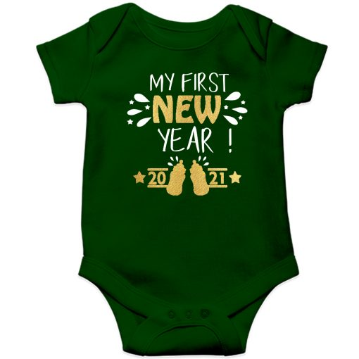 My-First-New-Year-2020-Baby-Romper-Green-Half