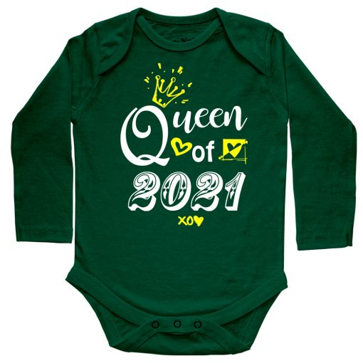 Queen-of-2021-T-Shirt-Green
