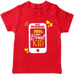Viral-Kid-of-2021-T-Shirt-Red