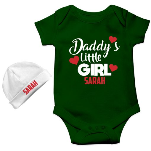 Daddy's-Little-Girl-NewBorn-Gift--Pack-Green