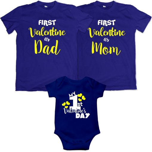 First-Valentine-Day-As-Family-Combo-T-Shirt-Blue