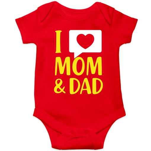 I-Love-Mom-&-Dad-Baby-Romper-Red
