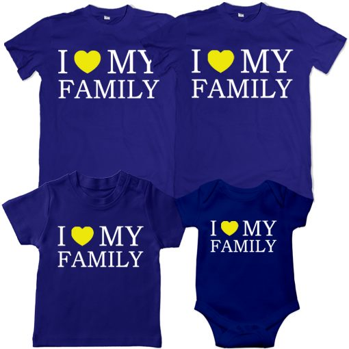 I-love-my-family-VALENTINE-SPECIAL-combo-T-Shirt-Blue