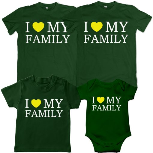 I-love-my-family-VALENTINE-SPECIAL-combo-T-Shirt-Green