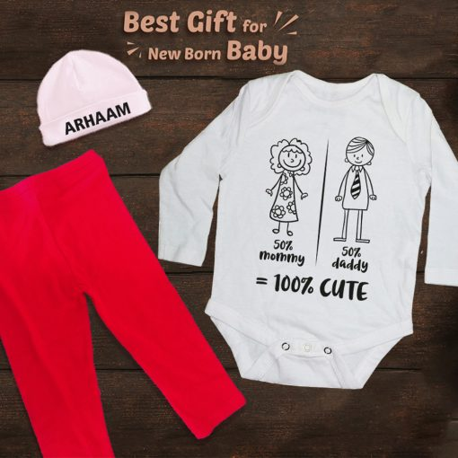 Unique-Best-Birthday-Gift-For-Baby-Rompe-&-Beanier-&-Trouser-Content