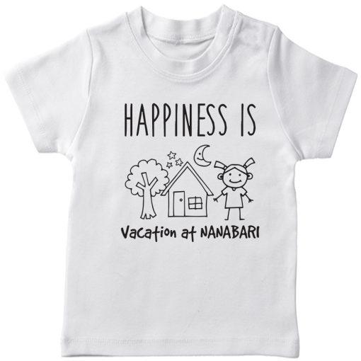 Vacation-At-NANA-&-DADA-Bari-Kids-T-Shirt-White