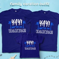Yay-We're-Going-On-Vacation-Family-Combo-T-Shirt-Content