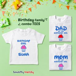 Family Birthday Celebration Combo T Shirt