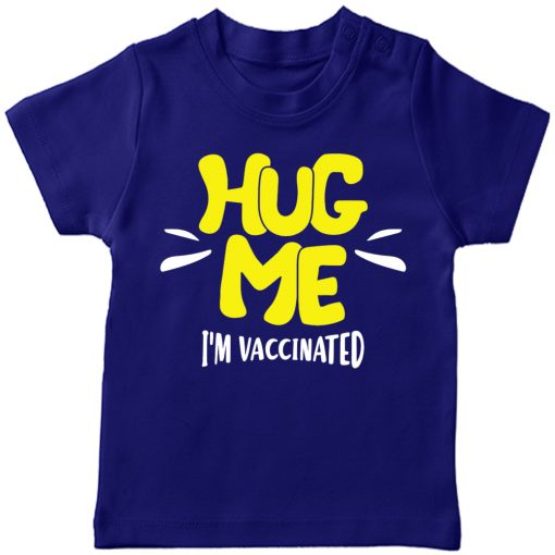 Vaccination-Successful-Kids-T-Shirt-Blue