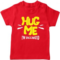Vaccination-Successful-Kids-T-Shirt-Red