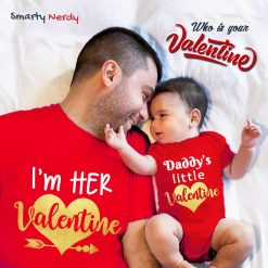Daddy & Daddy's Little Princess Valentine Special Combo T Shirt