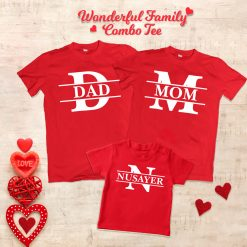 Wonderful-Loving-Family-Combo-T-Shirt-Content