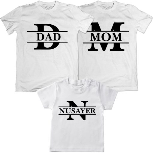 Wonderful-Loving-Family-Combo-T-Shirt-White