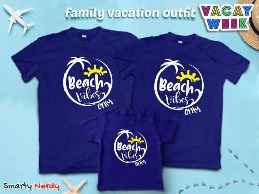 Beach Vibes Only Family Combo Special T Shirt