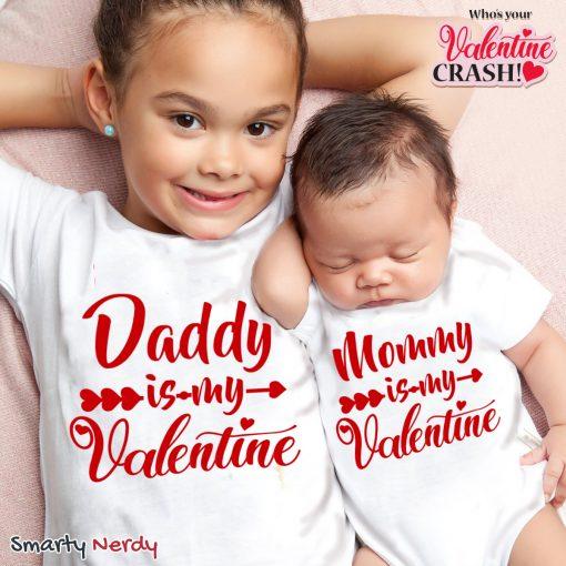 Daddy & Mommy Kid Favorite Special Valentine T Shirt