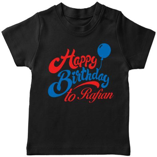 Birthday-Beautiful-New-Design-Kids-Tshirt-Black