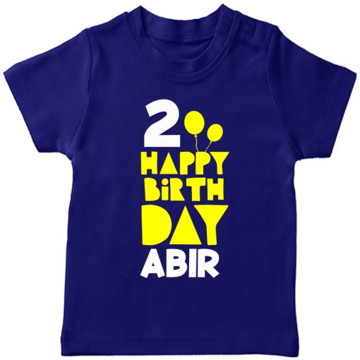 Birthday-Special-Customized-Name-T-Shirt-Blue