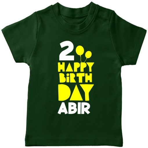 Birthday-Special-Customized-Name-T-Shirt-Green