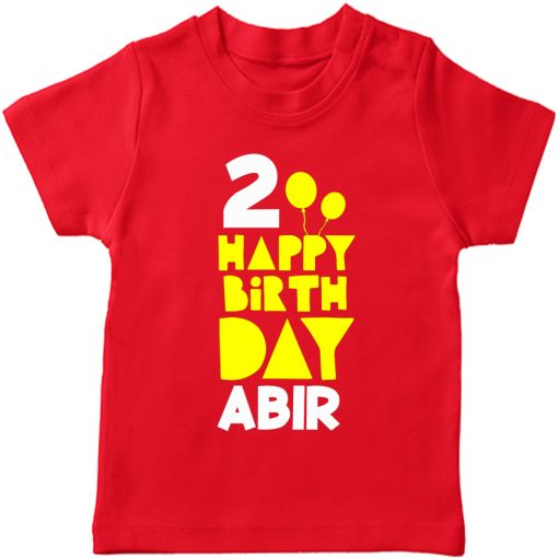 Birthday-Special-Customized-Name-T-Shirt-Red