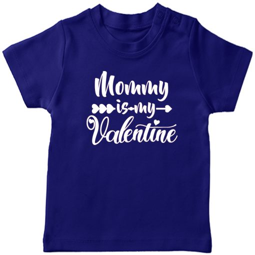 Daddy-&-Mommy-Kid-Favorite-Special-Valentine-T-Shirt-Blue-Mommy