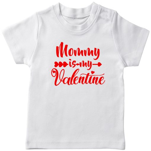 Daddy-&-Mommy-Kid-Favorite-Special-Valentine-T-Shirt-White-MOMMY