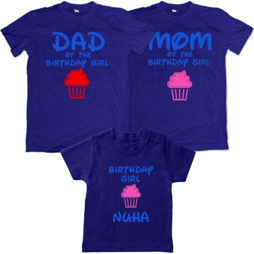 Family-Birthday-Celebration-Combo-T-Shirt-Blue